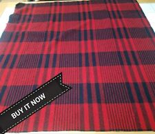 "BUY IT NOW! PENDLETON WOOLEN MILL BLANKET WOOL REMNANT 34"" x 33"" FABRIC"