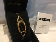 Sekonda ladies gold  plated dress   watch RRP £49.95