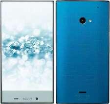 SOFTBANK SHARP 403SH AQUOS CRYSTAL 2 ANDROID UNLOCKED SMARTPHONE JAPAN BLUE NEW
