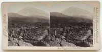 Vesuvio Lavastoviglie Italia Foto Stereo Stereoview N° L9 Vintage Albumina 1897