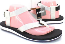 TEVA Org Ankle Strap Thong Sport Sandals White Women's US Shoe Size 10M  NEW