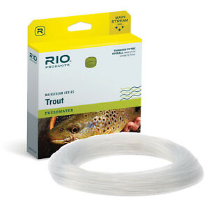 Rio Mainstream Intermediate Trout Fly Line - Clear - #6 #7 #8