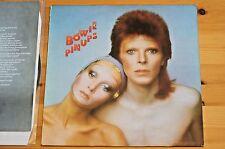 David Bowie Pin Ups Canada Import LP 9 Track EX SLV:VG RS1003 Orig Insert