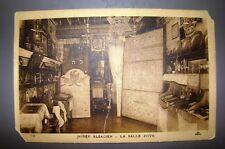 jewish judaica antique rabbi letter postcard photo Musee Alsacien france juive