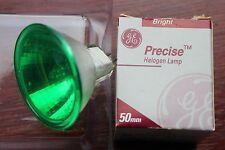 GE Precise 330374 EXZ MR16 12v Green Halogen Bulb 50w 24D Dichroic Reflector