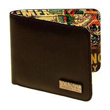 Faux Leather Retro Bifold Wallets for Men