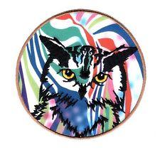 BRIGHT OWL VINYL DECAL STICKER FOR LAPTOP TABLET TILE GLASS DECOR