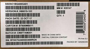 Intel SSDSC1BG400G401 SSD DC S3610 Series 400GB 1.8in SATA 6Gb/s, 20nm, MLC, NEW