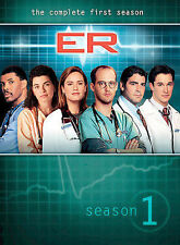ER - The Complete First Season (DVD, 2003, 4-Disc Set, Four Disc Set) Sealed