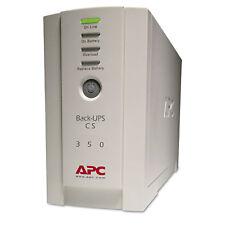 Apc Back-UPS CS Battery Backup System Six-Outlet 350 Volt-Amps BK350
