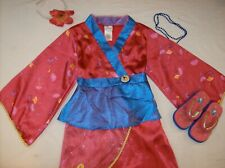 New Disney Princess Mulan Costume Exclusive Store Up XS 4/5