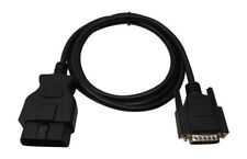 COOCHEER Scanner OBD2 cable cord OBDII Replacement connector NEW 5FT