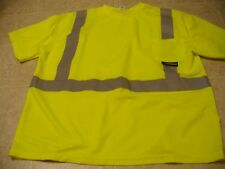 Radians Radwear Size 2XL type R class 2 safety neon short sleeve shirt
