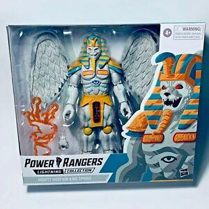 Power Rangers Lightning Series Monsters KING SPHINX 6-inch Figure IN STOCK