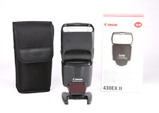 Canon EF 430EX Mark II Speedlite Flash / Flashgun - For Canon EOS DSLR Cameras
