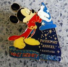 Walt disney resort pin-Studio-passeport annuel Fantasia-ca: 3,4 x 4 cm com 61