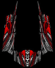 Polaris 4 RZR 1000 xp Design Geneses Decal Graphic Kit Wraps UTV Turbo Scoop