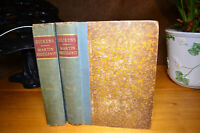 MARTIN CHUZZLEWIT by CHARLES DICKENS 2 Volumes CHAPMAN AND HALL - 1889