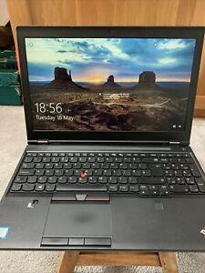 Lenovo Thinkpad P50 i7-6820HQ 2.7 GHz 32gb RAM Quadro M2000M  256GB M.2 90w Batt