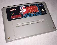 MR NUTZ-SNES Super Nintendo Juego-PAL una versión UKV-muy rara de conseguir