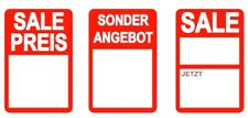 German - Red - REDUCED Stickers, Sticky Labels, Tags