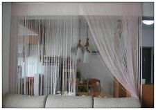 String Curtain Champagne Gold Room Divider Window Privacy 290cmx 150cm