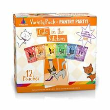 Weruva Cats in the Kitchen Pantry Party Pouch Variety Pack in Gravy Cat Food ...