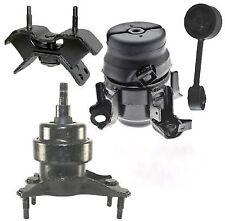 4PC ENGINE & TRANSMISSION MOUNT FOR 1999-2000-2001-2002-2003 LEXUS RX300 AWD M/T