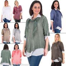 Maglie e camicie da donna multicolore viscosa taglia M