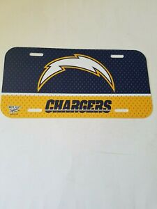 """San Diego Chargers - NFL - License Plate - (6"""" x 12"""") - FREE SHIPPING"""