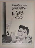 "Vintage 1954 ""A Star is Born"" Judy Garland Movie Promo Print Ad"