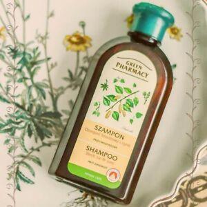 Green Pharmacy ANTI-DANDRUFF Hair Shampoo NATURAL Herbal Dry Itchy Scalp 350ml