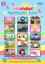 Milkshake Fantastic Fun DVD With Stickers Over 2 Hours Channel 5 Children