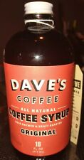 Dave's Coffee Syrup - 16 fl. oz - Gourmet, Vegan, Made In RI - FREE SHIPPING!!