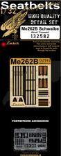 HGW 1/32 Me-262B Schwalbe Pre-Cut (Laser) Seat Belts # 132582