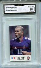 2004 Zinedine Zidane UK Tradition Card Gem Mint 10 France