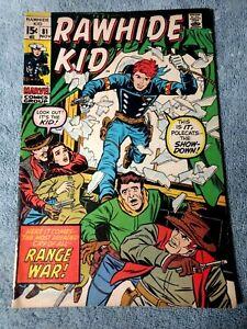 Rawhide Kid~#81~1970~RANGE WAR!!~comic book~Marvel