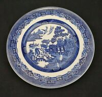 Johnson Brothers China Blue Willow Dinner Plate England