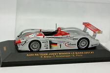 Ixo 1/43 - Audi R8 Team Joest Winner Le Mans 2001 N°1