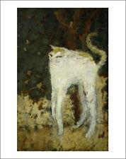 Bonnard - The White Cat fine art giclee print poster wall art various sizes