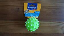 Neu: Hundespielzeug Vinyl Vitakraft Noppenball mit Quietscher Ball für Hund