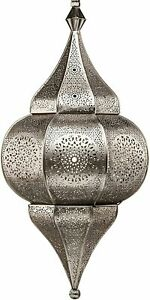 Moroccan Lamp Silver Hanging Lamps Ceiling Lights Fixture Home Lantern Gifts