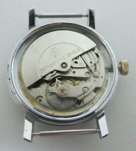 Vintage MEISTER-ANKER AUTOMATIC Förster 222 watch movement  for parts (K205)