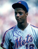 Darryl Strawberry Signed Autographed 8x10 Photo NY New York Mets COA AB