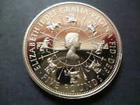 1993 PROOF £5 COIN, 40TH ANNIVERSARY OF THE CORONATION.1993 FIVE POUNDS COIN.