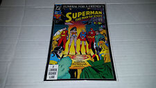 Superman the Man of Steel # 20 (DC, 1993) Funeral for a Friend / 3