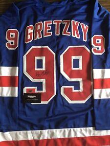 Wayne Gretzky Signed Jersey (COA)