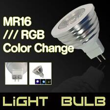 MR16 RGB Magic 3W LED Bulb Lamp Light 16 Color Changing + IR Remote Control