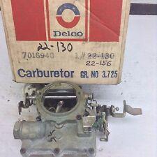 NOS ROCHESTER 2GV CARBURETOR 7029140 1968-1969  BUICK 350 ENGINE