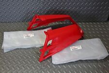 NEW Yamaha Banshee OEM factory gas tank plastic wrap set RED 1987-2006